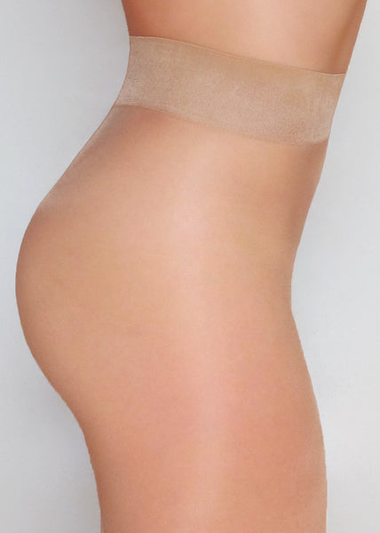 20 Denier sheer to waist tights & pantyhose - side view