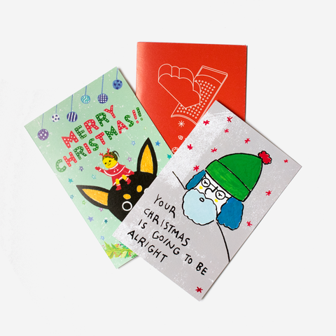 Set of 3 Christmas Cards