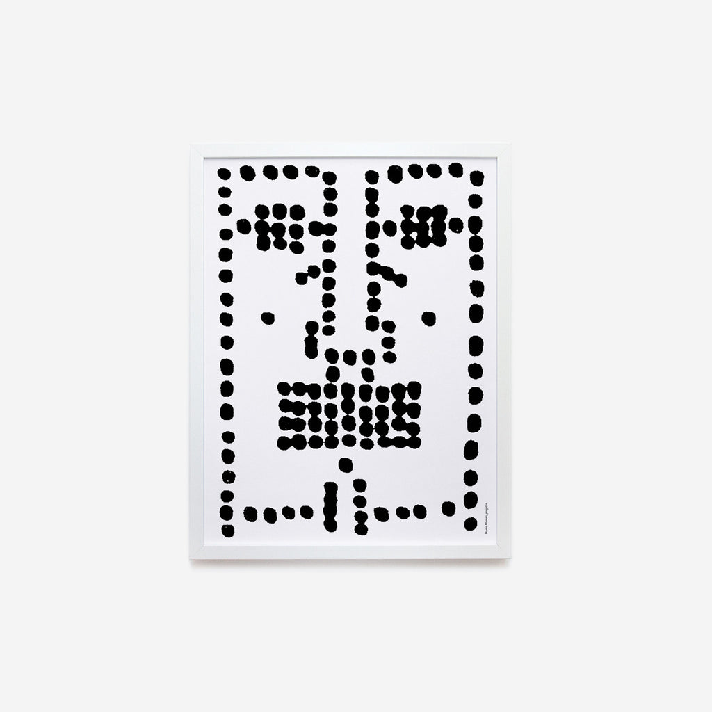 Bruno Munari faces | 01