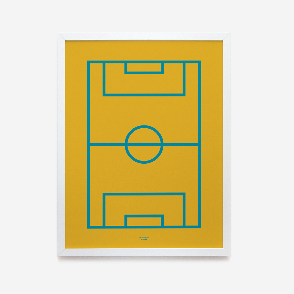Playgrounds series by Luca Terraneo | Soccer