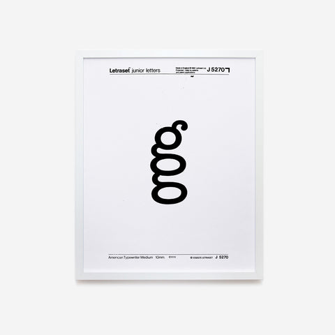 Designing letters | G by Luciano Perondi & Alessio D'Ellena