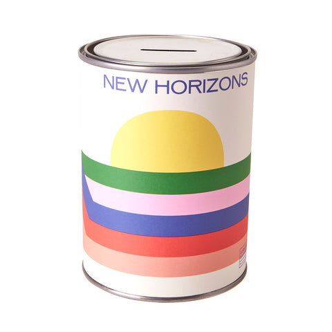 NEW PEAKS NEW HORIZONS TIN by Sue Doeksen