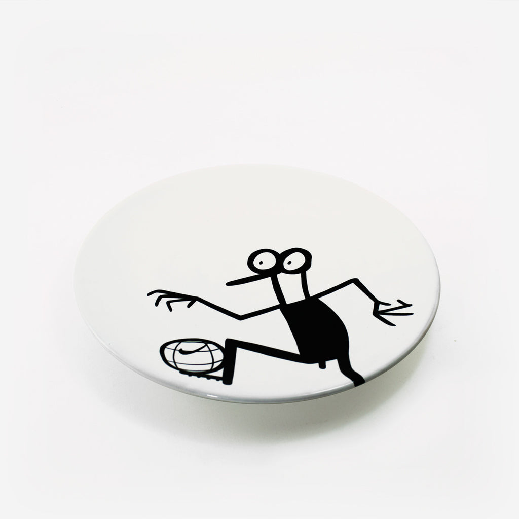 Ceramic plates by Fausto Gilberti | Football