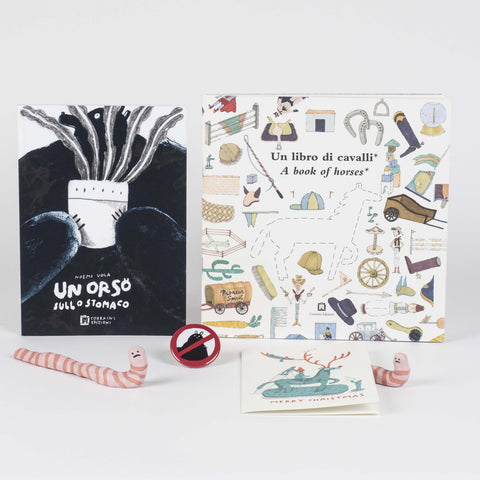Box | Spiteful bears and smiling worms by Libreria 121+