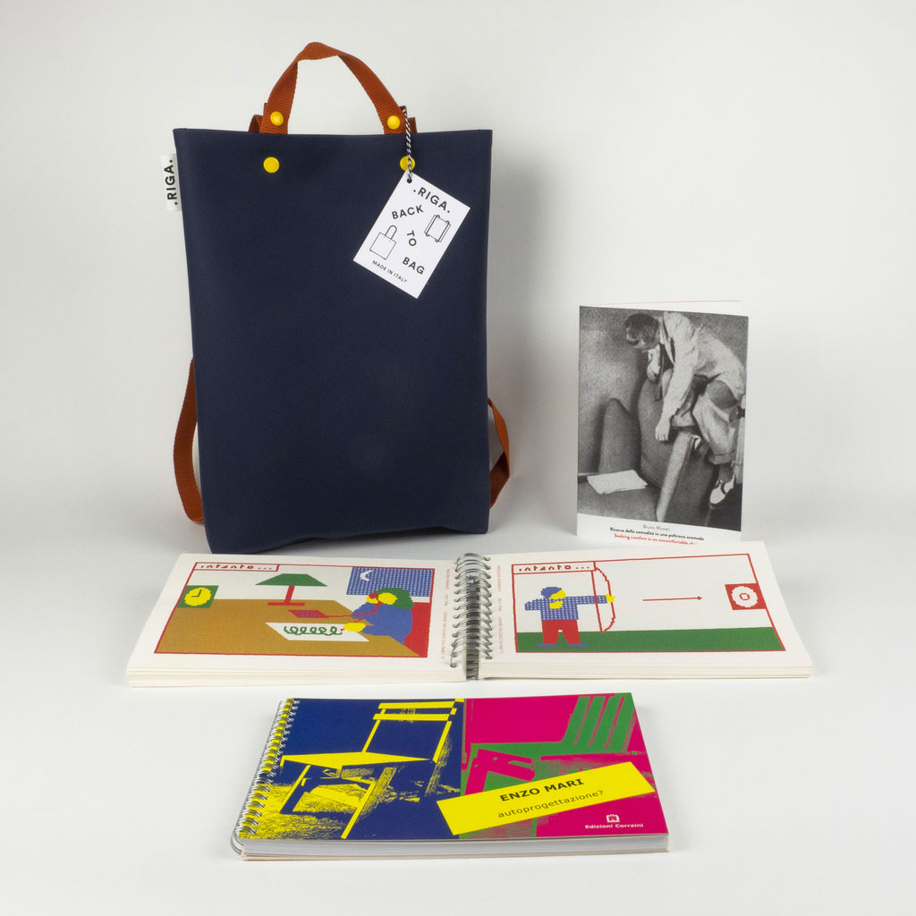 Box | Back to bag by Libreria 121 with RIGA bag