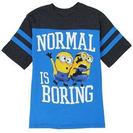 Minions Normal is Boring T-Shirt