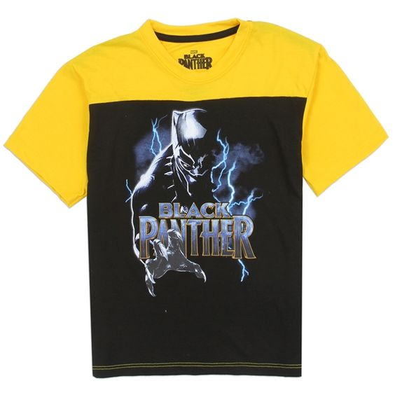 Black Panther Boys T-Shirt