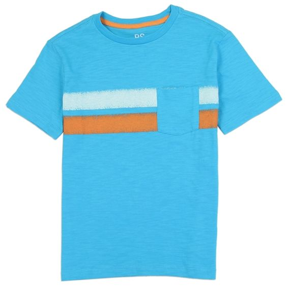 Boys blue casual t-shirt ps aeropostale