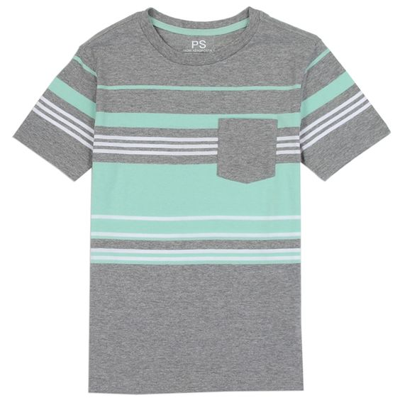 Boys Casual Striped T-shirt