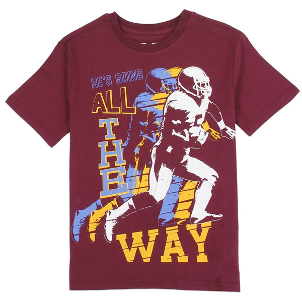 Aeropostale Boys Football Graphic Tee