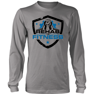 Rehab to Fitness - Men's Triblend Tshirt