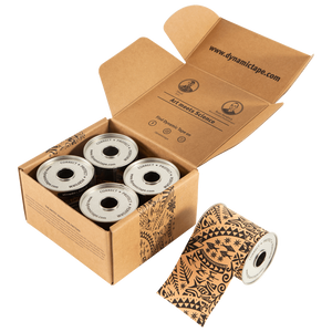 Dynamic Tape - 3in Black Tattoo BOX (4 rolls)