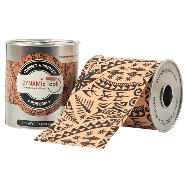 Dynamic Tape - 3in Black Tattoo Roll