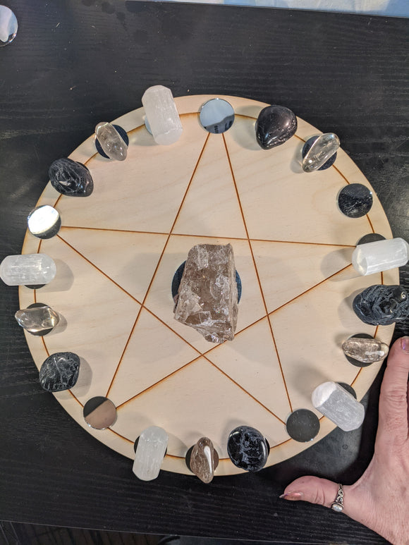 Starter Elemental Pentacle Grid Sets