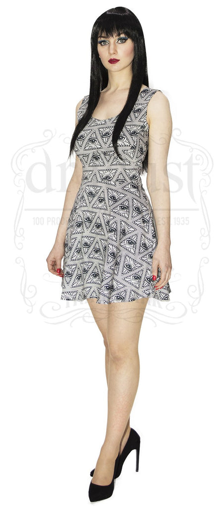Eye of Providence Bodycon Dress. OPEN YOUR THIRD EYE!