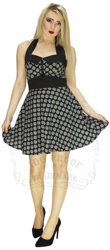 Grow a Flower Dress in Black