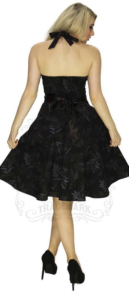 Hello! Leaf the Fest to Me Dress in Black.