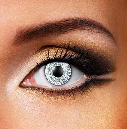 Colored Natural 'Grey' Dress Contact Lens
