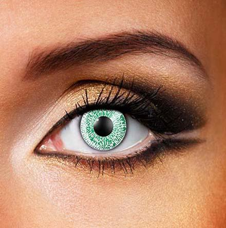 Colored Natural 'Green' Dress Contact Lens