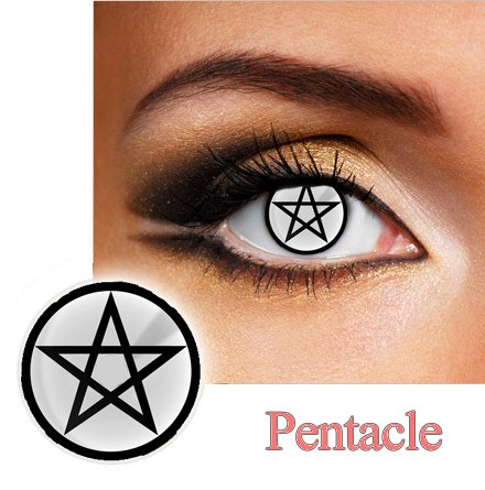 Pentacle Halloween and Party Contact Lense