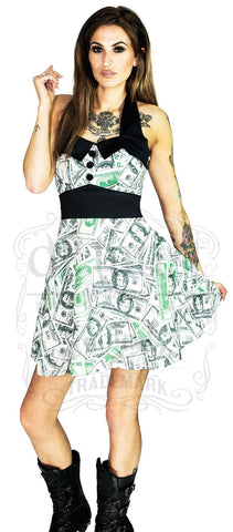 Miami Ink Tattoo Dress in Skin.