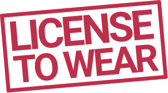 license to wear main logo