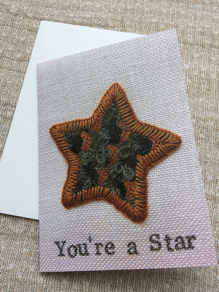 'You're A Star' Greetings Cards