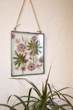 Load image into Gallery viewer, Pressed flower art