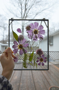 Pressed flower frame