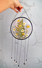 Load image into Gallery viewer, Pressed flower wall hanging - Wildflowers