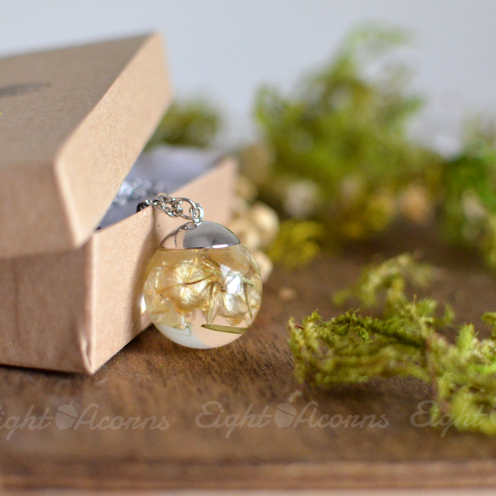 Flower Terrarium Necklace Flower Necklace Calla Lily Necklace Calla Lily Globe Pendant Clay Miniature Flower Necklace Mothers Day Gift