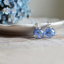 Load image into Gallery viewer, Forget me not earrings