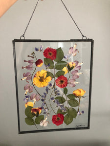 Custom Framed Pressed Flowers
