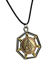 Aral, Angel of Fire Medieval Magick Talisman for Courage
