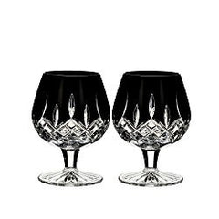 Waterford Lismore Black Lead Crystal Chalice and Decanter Holy Communion Black Mass Wiccan Altar Drink-ware Set
