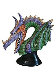 Posh Dragon Bust Cone Incense Burner