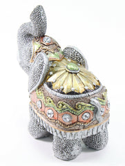 "Feng Shui 5""(H) Elephant Wealth Lucky Figurine Home Decor Housewarming Gift"