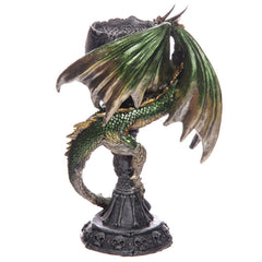 Necromancer's Skull Goblet Altar Chalice Dark Legends Dragon Figurine - 13 Black Cats - 3