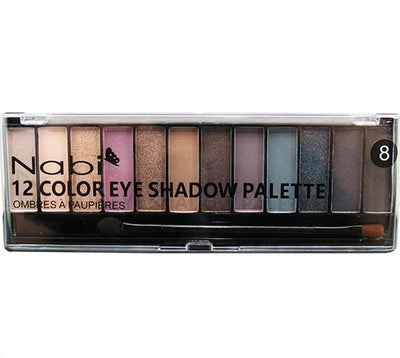 Venta al por mayor Nabi Paleta de Sombras 12 Color Display 48PZS (A502)