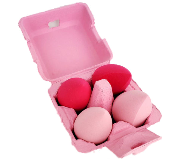 Set de Esponja Para Mezclar 4PZS Chick Blenders Beauty Creations - Venta al Por Mayor Pack 6PZS (SE-4)