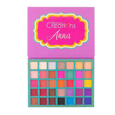 Venta al por mayor Beauty Creations Paleta 35 Color Pro Anna Pack 6PZS (BCE13)
