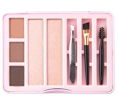 Venta al por mayor Beauty Creations Mini kit de cejas Display 12PCS (BMK)