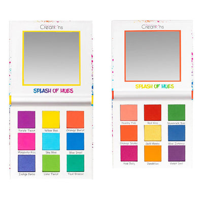 Venta al por mayor Beauty Creations Sombras Splash Of Hues Vol 1 & 2 Display 12PZS (EBL9-CD)
