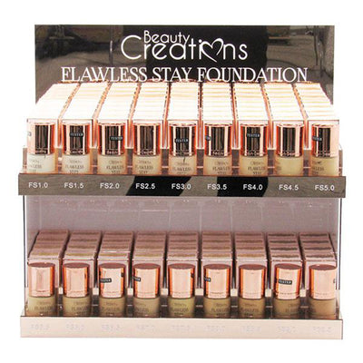 Base Flawless Mezclado en 18 Colores Beauty Creations