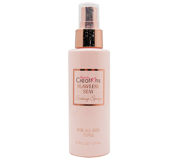 Spray de Fijación Flawess Stay Beauty Creations - Venta al por Mayor Display 12PZS (SPF01)
