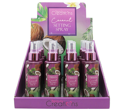 Spray Setting - Coco Beauty Creations - Venta al por Mayor Display 12PZS (SPN04)