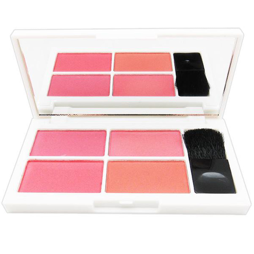 Paleta de Rubor Blusher 4 Colores Bella Forever - Venta al por mayor Display 12PZS (BF-BL01)