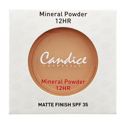 Polvo Mineral Candice 6 Tonos Surtidos Venta al por mayor Pack 12PZS (CAN-MP12HRS)