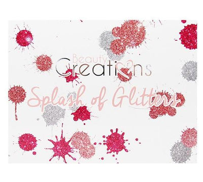 Venta al por mayor Beauty Creations Glitter Palette 28Color Splash Of Glitter Pack 6PZS (E28-A)