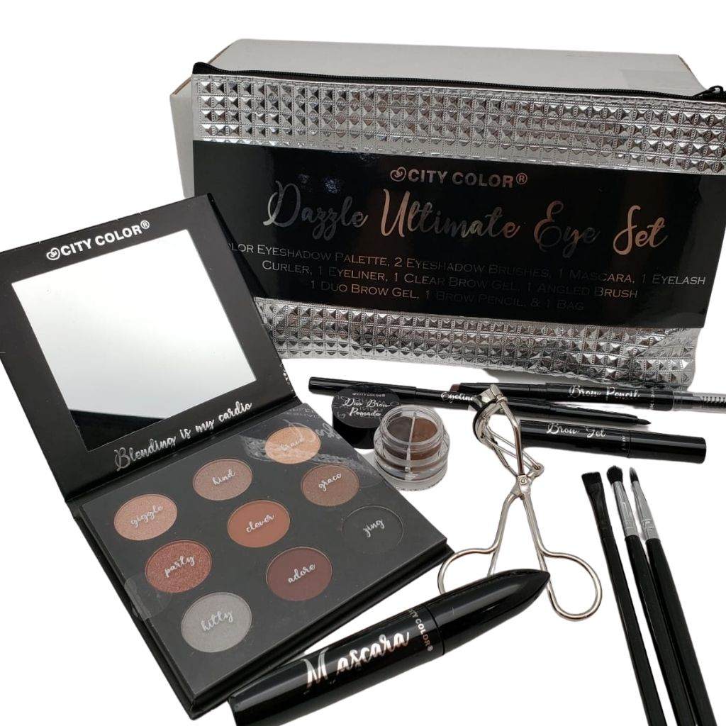 Set de Maquillaje para Ojos Dazzle Ultimate City Color - Venta al por mayor Pack 6PCZ (G-0468)